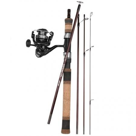 "Voyager Select Travel Kit Combo - Okuma Voyager Select Travel Kit Combo-Light weight and responsive 24-ton carbon blanks-5-pcs breakdown for easy transportation-""T"" Modelos represent full telescopic version"