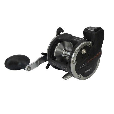 Classic Pro XPD Line Counter Reel - Okuma Classic Pro XPD Line Counter Reel-Strike zone line counter system incorporates a mechanical counter-Precisely measures line based on spool revolutions-Speed LOC pinion gear system