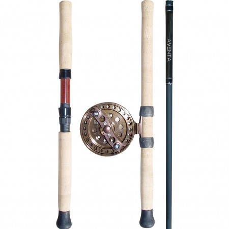 AVENTA Fly Rod - Okuma AVENTA Fly Rod-Balanced rod actios for the Aventa-Sensitive graphite blank construction-Hight quality cork grips