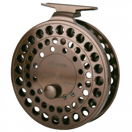 Aventa Float Reel - Carretel Flutuante Aventa - Carretéis Okuma Aventa Float Reel-usinado em precisão em aço inoxidável-2 eixos em aço inoxidável Rolamentos de esferas japoneses-Catraca de ligar / desligar clique para aumentar a tensão da bobina