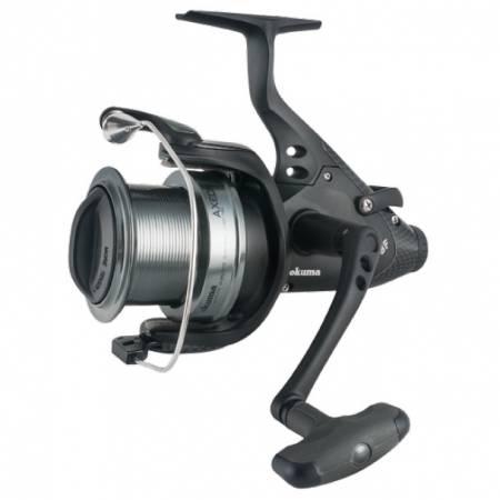 Axeon Baitfeeder Spinning Reel - Okuma Axeon Baitfeeder Spinning Reel-Carp fishing -On/Off auto trip bait feeding system-Dual force drag system