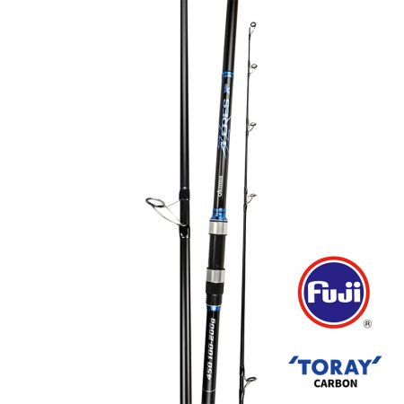 Azores XP Surf Rod (2021 NEW) - Okuma Azores XP Surf Rod- Toray 40T high modulus carbon blank construction- Fuji K-concept guides with Alconite insert- Fuji DPS screw-lock reel seat with cushioned hood