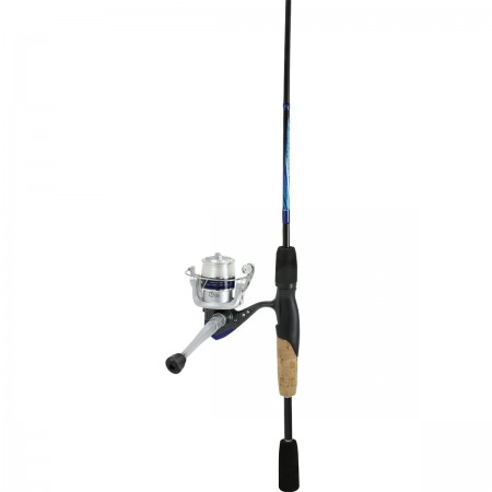 Cascade Spinning Combos - Okuma Cascade Spinning Combos-Durable glass fiber rod blank construction-Features comfortable EVA fore grips-2-pcs for easy transportation