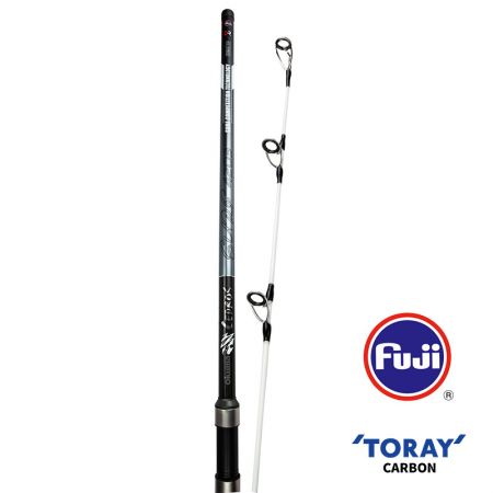Cedros Surf Rod (2021 NEW) - Okuma Cedros Surf Rod- Toray 40T high modulus carbon blank construction- Solid carbon inserted hybrid tip- Fuji K-concept guides with Alconite insert and SIC top- Fuji DPS screw-lock reel seat with cushioned hood