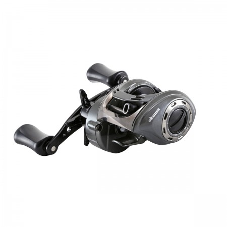Cerros Low Profile Baitcast Reel - Okuma Cerros Low Profile Baitcast Reil-Alumilite frame construction-9BB + 1RB محامل نظام الدفع - محمل أسطواني مضاد للانعكاس