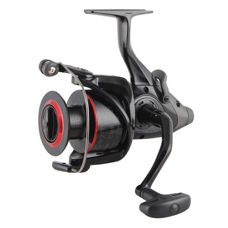 Ceymar Baitfeeder Spinning Reel - Okuma Ceymar Baitfeeder Spinning Reel-On/off auto trip bait feeding system -Cyclonic Flow Rotor-Heavy duty solid aluminum bail wire