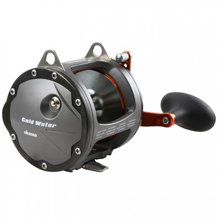 Cold Water Wire Line Star Drag Reel - Okuma Cold Water Wire Line Star Drag Reel-Oversized brass XL gearing system-Dual anti-reverse systems-Full Carbonite drag system with up to 9kg of maximum drag output