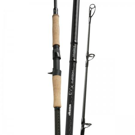 EVX Carbon Rod - Okuma EVX Carbon Rod-Professional level bass fishing rods -30-Ton ultra-sensitive and responsive carbon blank construction