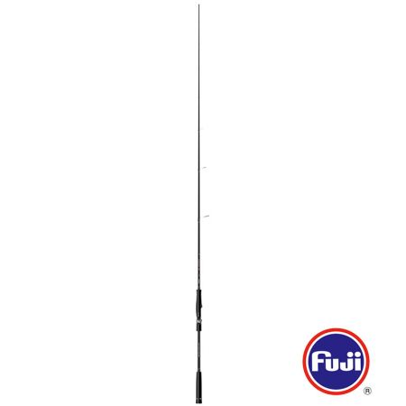Komodo Light Jig Rod - Komodo Light Jig Rod-Fuji K-concept tangle free guides with Alconite inserts-UFR® TIP technology -Slim high modulus carbon blank, with crossed carbon