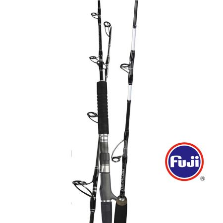 Metaloid Jigging Rod - Okuma Metaloid Jigging Rod-Are made to handle the toughest saltwater fishing-Extremely light weight and responsive 24T carbon rods blanks-Okuma special blanks design to improve hoop strength