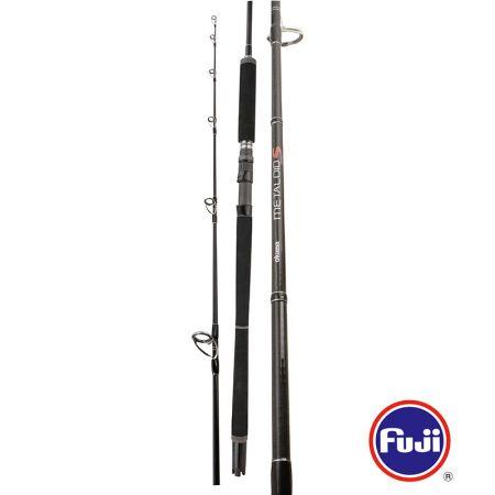 Metaloid S Rod (2020 new) - Metaloid S Rod (2020 new) -KOREAN Quality carbon material-Fuji black reel seat with LO/AN double lock-Hard black EVA handles with slim dark grey design
