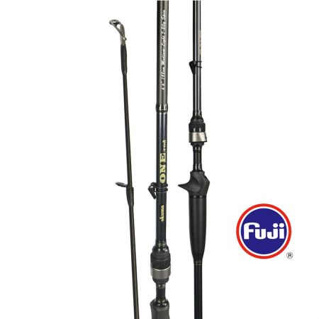 One Rod - Okuma One Rod-Available for both casting rods and spinning rods-For bass fishing-Ultra light 40T carbon blank construction