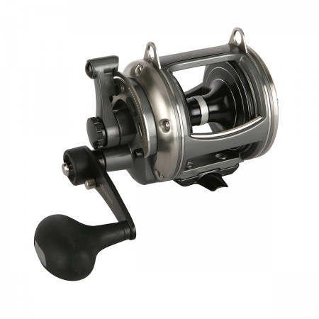 Solterra SLX Lever Drag Reel - Okuma Solterra SLX Lever Drag Reel-2-Speed gearing-Single speed, High-speed and Two-speed models-Durable corrosion-resistant frame & side plates-Stainless steel main gears, pinion gears and shafts