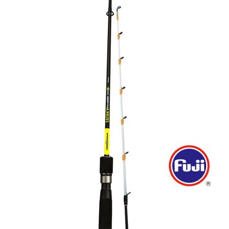Tataky Pro Rod (2021 NEW) - Okuma Tataky Pro Rod- 24T ultra-light carbon blank construction with Okuma UFR technology- Fuji Micro guides- Visual white tip design