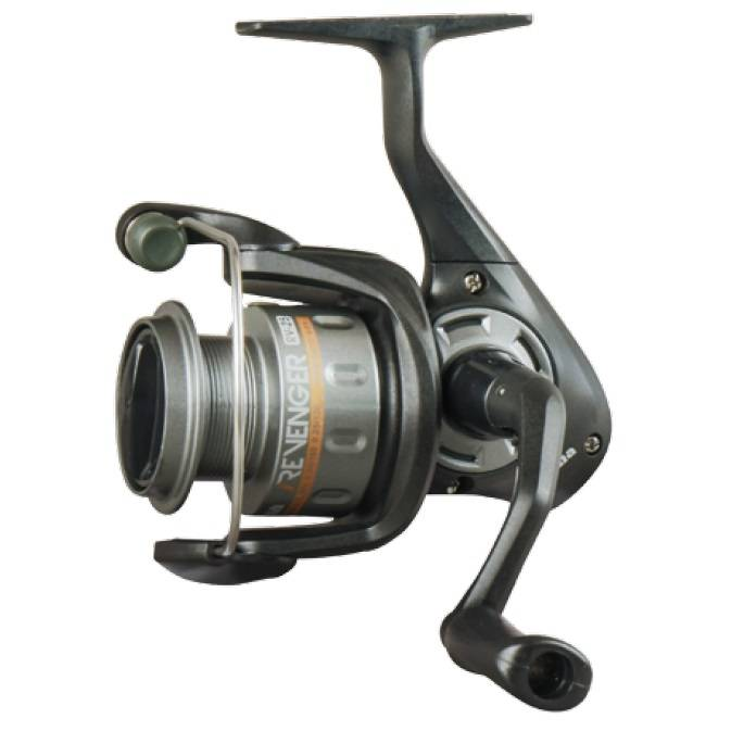 Revenger Spinning Reel - Okuma Revenger Spinning Reel-Multi-disc oiled felt drag system-Graphite spool