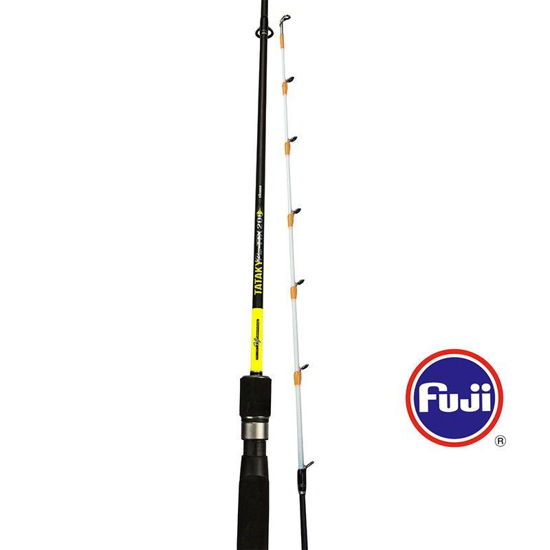 Tataky Pro Rod (2021 NEW) - Okuma Tataky Pro Rod- 24T ultra-light carbon blank construction with Okuma UFR® technology- Fuji Micro guides- Visual white tip design