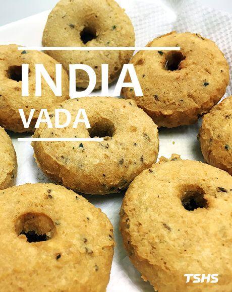 Máquina formadora de India-Vada