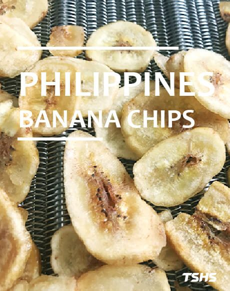 Syrup Coating Banana Chips-New Project Of Continuous  Deep Oil Fryer