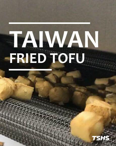 Taiwan fry tofu