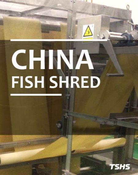 大陸-魚酥-魚絲生產線-青豆生產線 - 魚絲、魚酥生產線