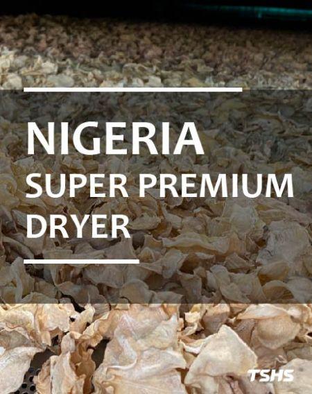 ไนจีเรีย- สายการผลิตชิปมันสำปะหลังอบแห้ง - Super Premium Dryer (ผลิตภัณฑ์ที่กำหนดเอง) - เครื่องเป่าต่อเนื่องแบบกำหนดเอง