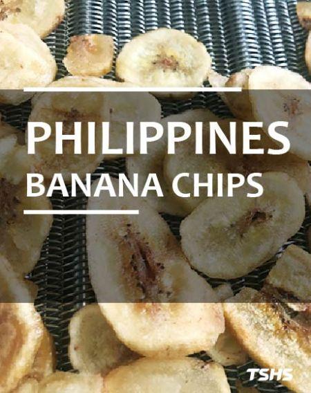 Philippines- Nhà sản xuất dây chuyền sản xuất chip chuối tráng xi-rô - Dự án mới về máy chiên dầu sâu liên tục - Chuối chip bằng cách tráng xi-rô