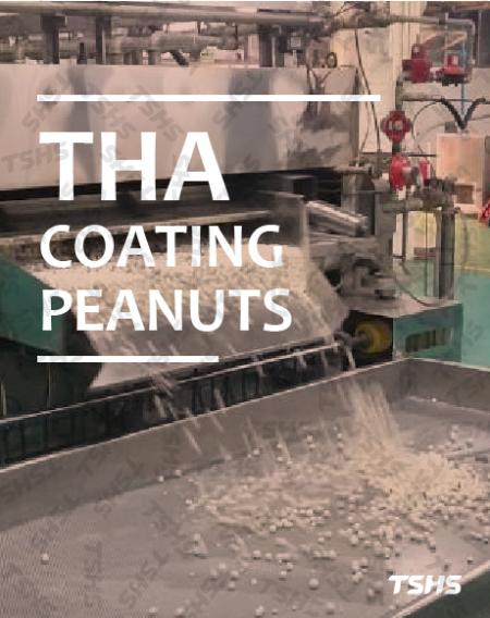 Solution Provider: successful case in Thailand for coated nuts processing