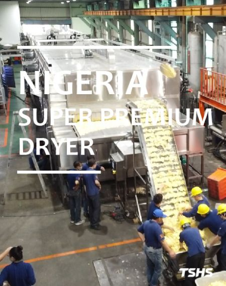 Nigeria-Drying Cassava Chip-Super Premium Dryer (customized product )