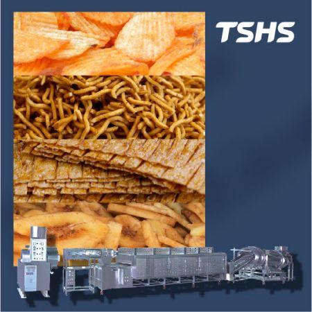 スナック食品生産ライン