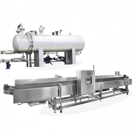 Steam Type Heat Changer Oil Fryer