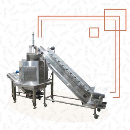 Continuous De-Fatting Machine