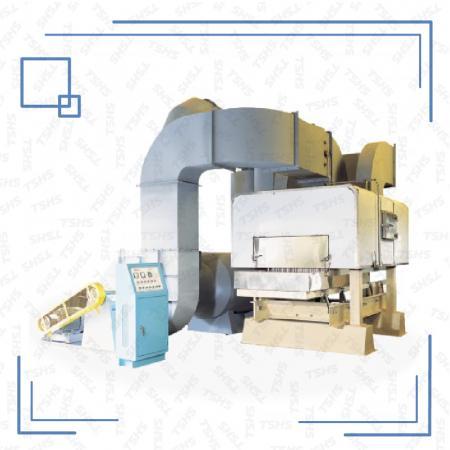 Séchoir / torréfacteur à lit fluidisé continu - Séchoir / torréfacteur à lit fluidisé continu