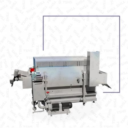 Continuous Microwave Hybrid Frying Machine