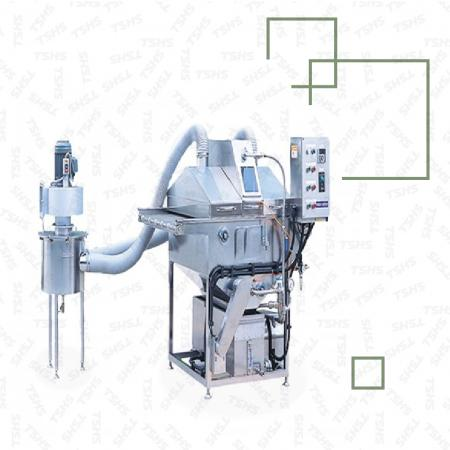 कन्वेयर प्रकार तरल स्प्रेयर मशीन - कन्वेयर प्रकार तरल स्प्रेयर
