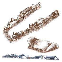 Ligne de production de croustilles