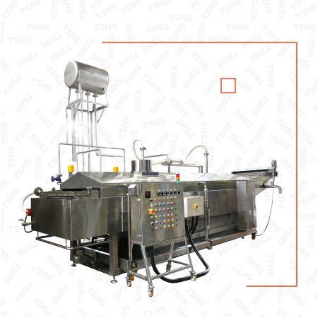 Nồi chiên dầu sâu liên tục cho sản phẩm tráng xi-rô - Nồi chiên dầu sâu liên tục cho sản phẩm tráng xi-rô