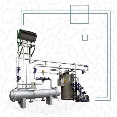 伝熱油加熱システム - 伝熱油加熱システム