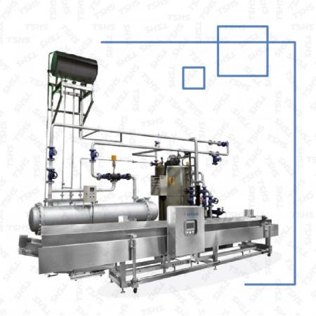 Continuous Frying Machine -Heat Convection Oil Heating System - The Heat Transfer Oil Heating System Fryer