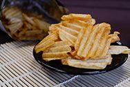 Burgonya chips (hullám)
