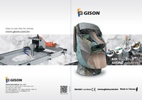2018 GISON Wet Air Tools per pietra, marmo, granito Industria catalogo - 2018 GISON Wet Air Tools per pietra, marmo, granito Industria catalogo