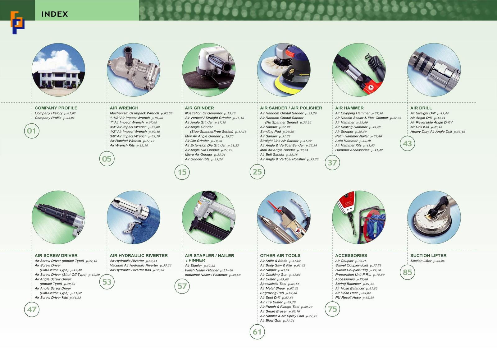 2007-2008 GISON Air Tools, Pneumatic Tools Catalog | GISON MACHINERY