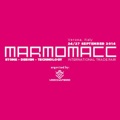 [Tentoonstelling] Marmomacc 2014 - Internationale handelsbeurs voor steenontwerp en -technologie - Steenbeurs (09 / 24-09 / 27) - Marmomacc - International Trade Fair for Stone Design and Technology - Stone Fair