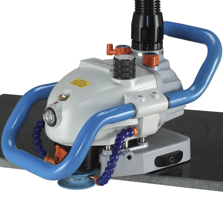 Máquina perfiladora de bordes de piedra de aire (9000 rpm) - Enrutador de piedra neumático (exterior)