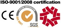 профіль компанії - Сертифіковано ISO-9001, заявляють CE.