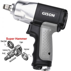 """1/2"""" Composite Air Impact Wrench (320 ft.lb)"""