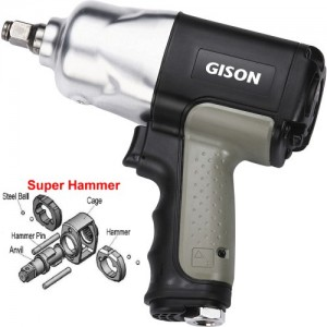 """1/2"""" Composite Air Impact Wrench (1000 ft.lb)"""