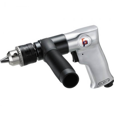 "1/2"" Hi-Torque Air Drill (800rpm, Pistol Grip)"