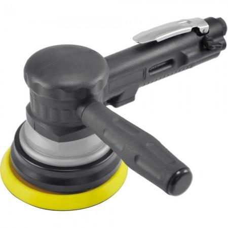 """5 """"両手ギアタイプ空気圧サンダー(1,000 rpm、ダスト吸引なし)"""
