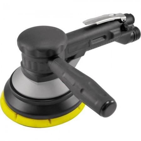 """6 """"両手ギアタイプ空気圧サンダー(1,000 rpm、中央集塵)"""