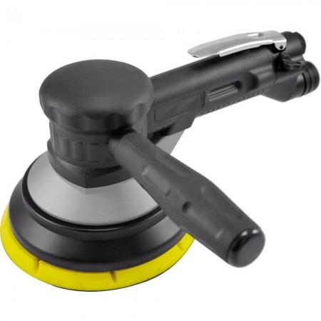 """6 """"両手ギアタイプ空気圧サンダー(1,000 rpm、自己吸引集塵)"""